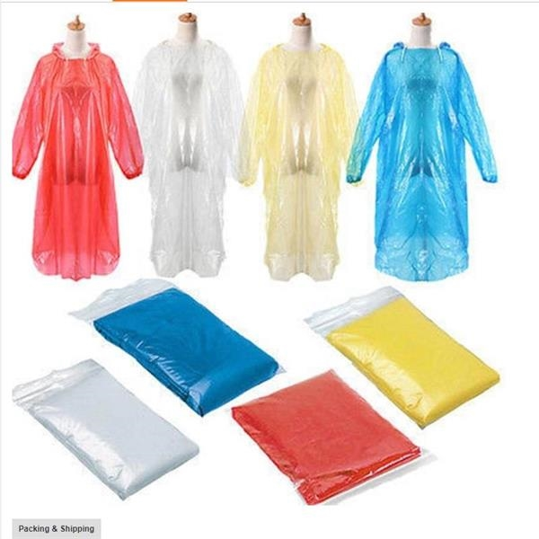 Disposable Protective Adult Raincoat