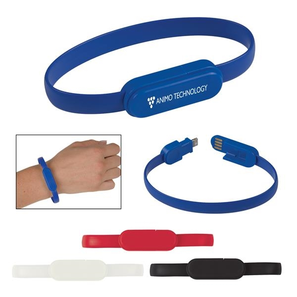 2-In-1 Connector Charging Cable Bracelet