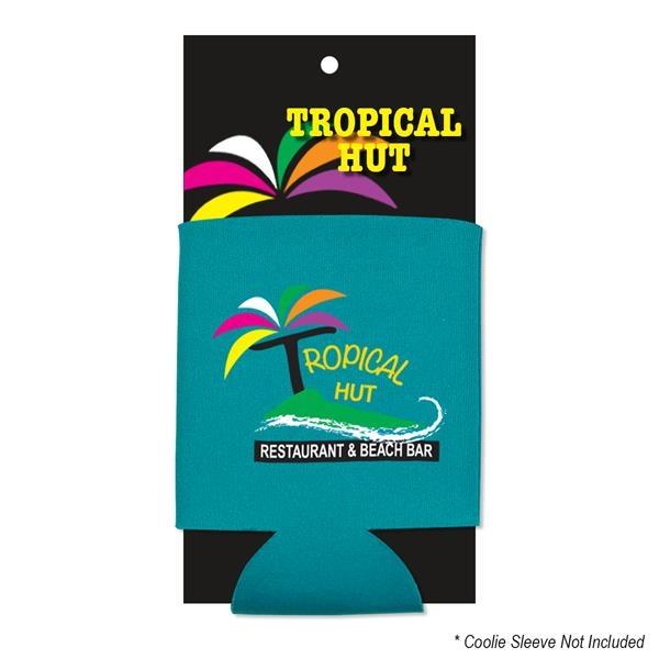 Custom Coolie Retail Hang Card
