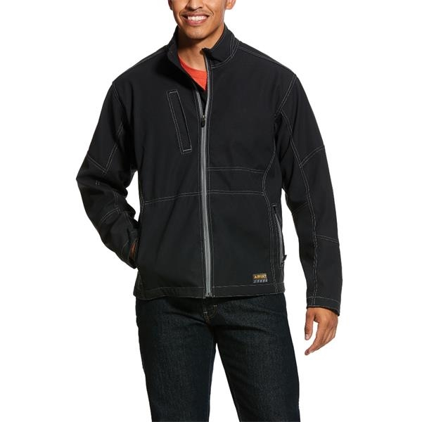 Ariat® Rebar Stretch Canvas Softshell Jacket
