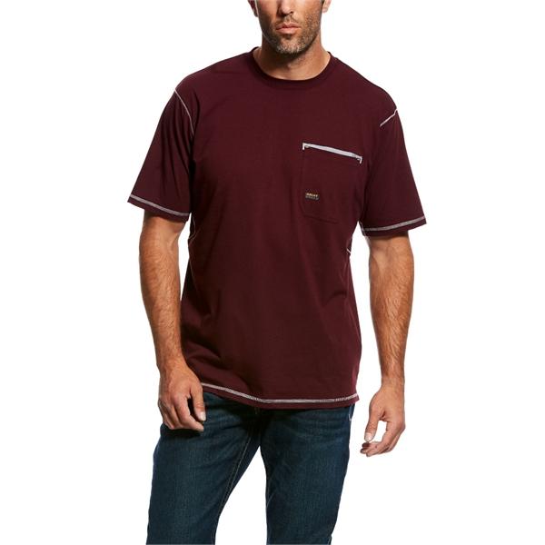 Ariat® Rebar Workman Short Sleeve T-Shirt