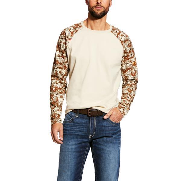 Ariat® FR Baseball Long Sleeve T-Shirt