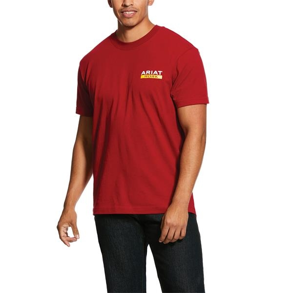 Ariat® Rebar Cotton Strong Roughneck Graphic T-Shirt