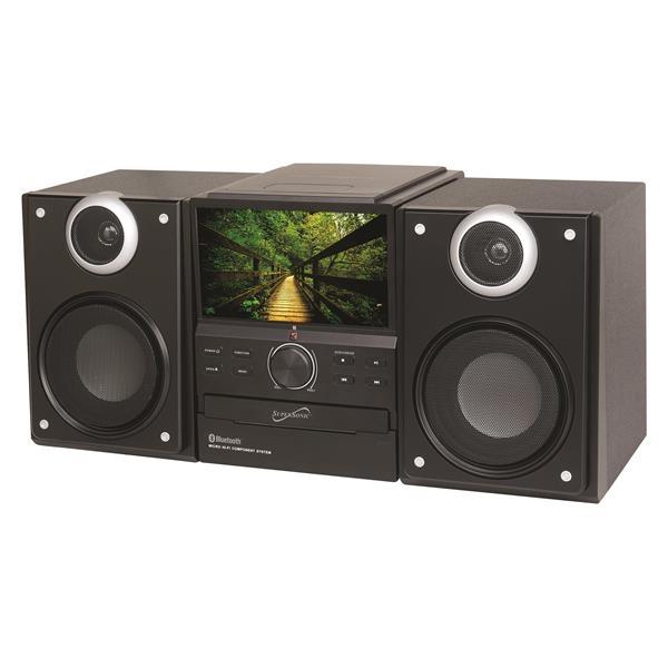 Supersonic Hi-Fi Audio Micro System w/ Bluetooth DVD Player