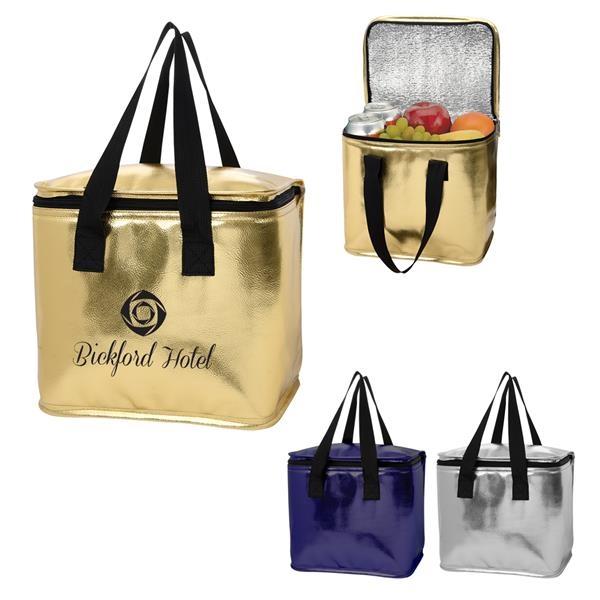 Major Metallic Cooler Bag