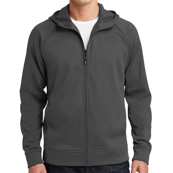 Sport-Tek Rival Tech Fleece Full-Zip Hooded Jacket