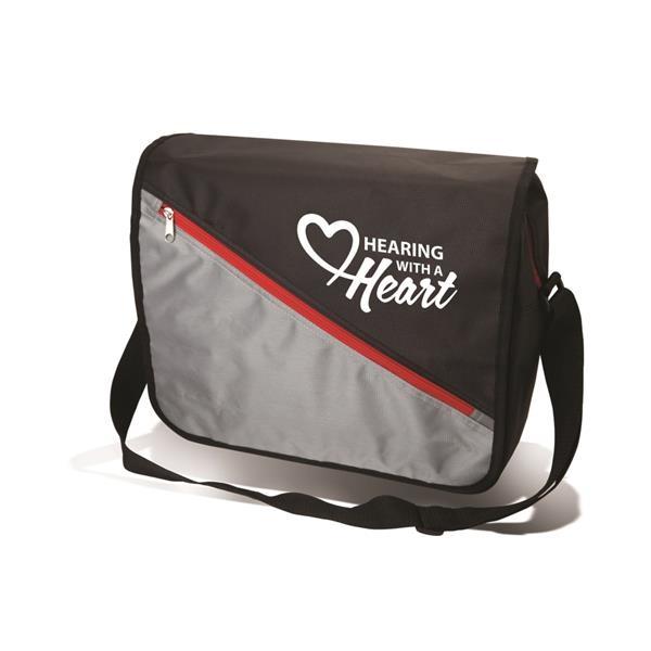 Diagonal Messenger Bag