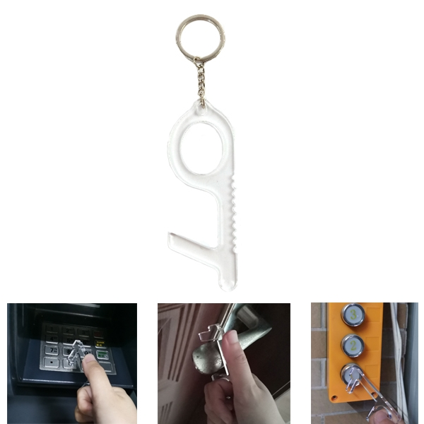 Anti-Germ Utility Tool Keychain