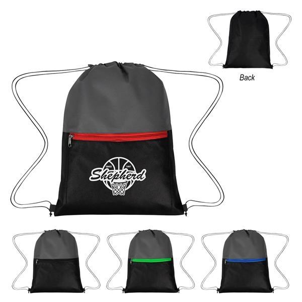 Triad Non-Woven Drawstring Bag
