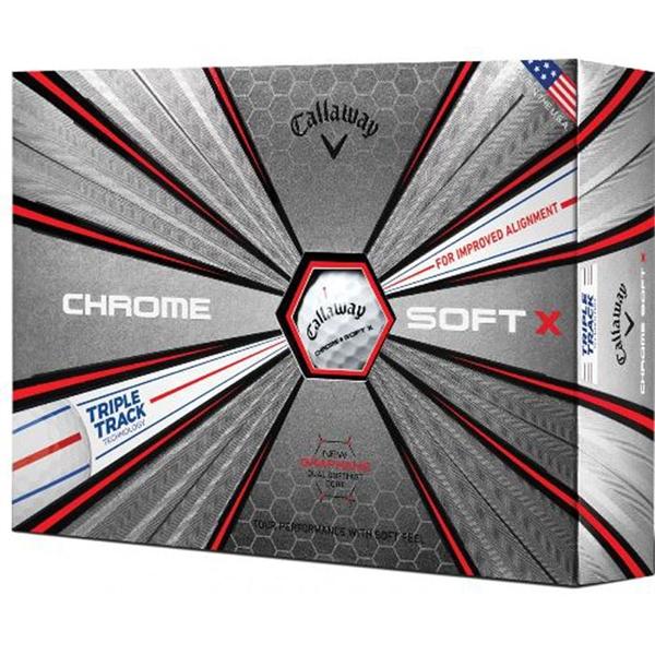 Callaway Chrome Soft X TriTrack Golf Balls