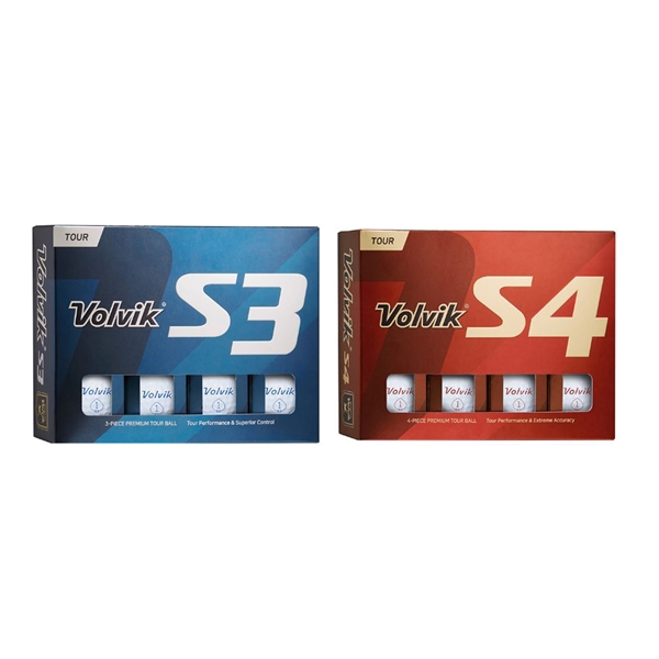 Volvik S4 or S3 Golf Balls