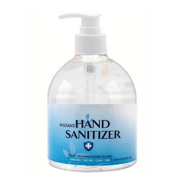 Hand Sanitizer with Alcohol, 16.9 oz.