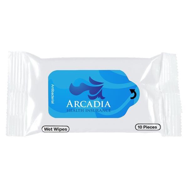Antibacterial Wet Wipe Packet