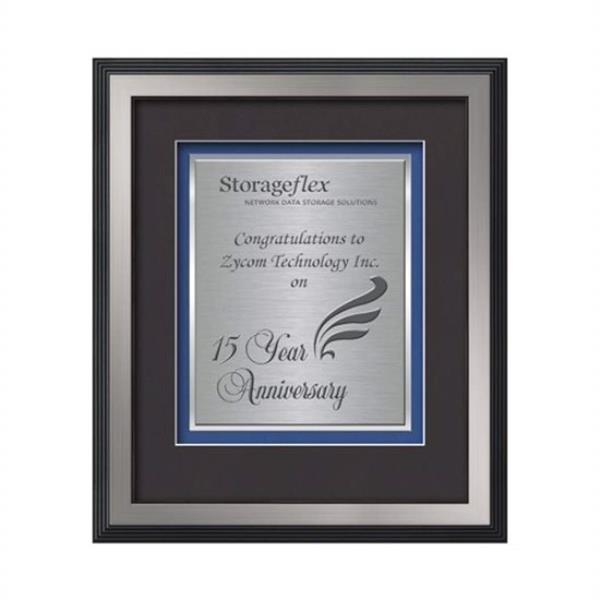 Jasper Certificate TexEtch Vert - Silver