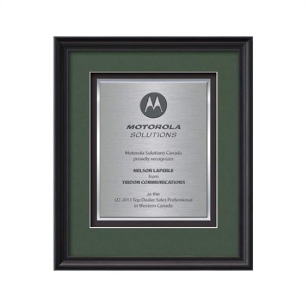 Raven Certificate TexEtch Vert - Black