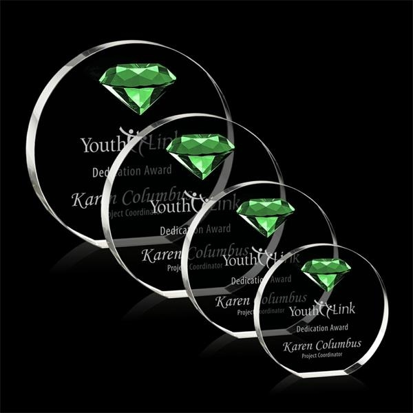 Anastasia Gemstone Award - Emerald