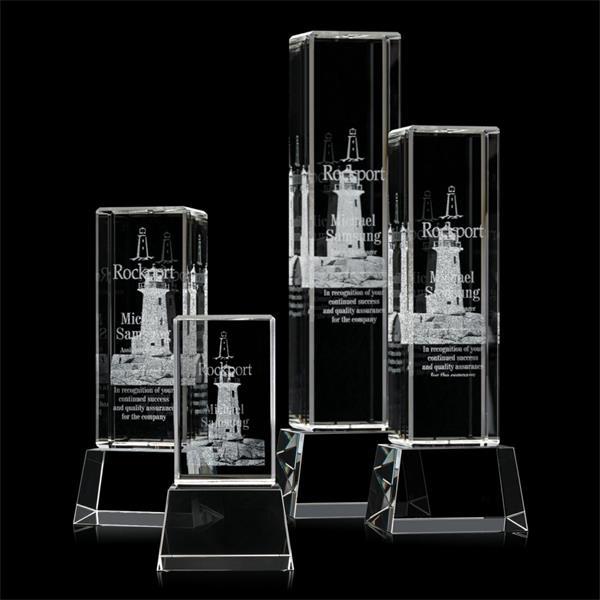 Robson 3D Award on Base - Clear