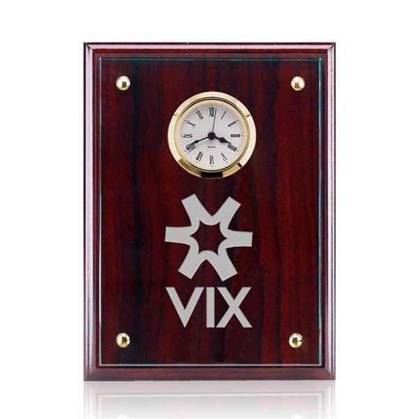 Somerset Clock - Starfire/Rosewood