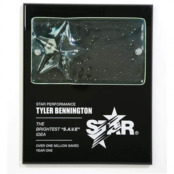 Cast Star Plaque