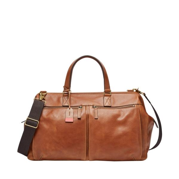Defender Framed Duffel Cognac Bag