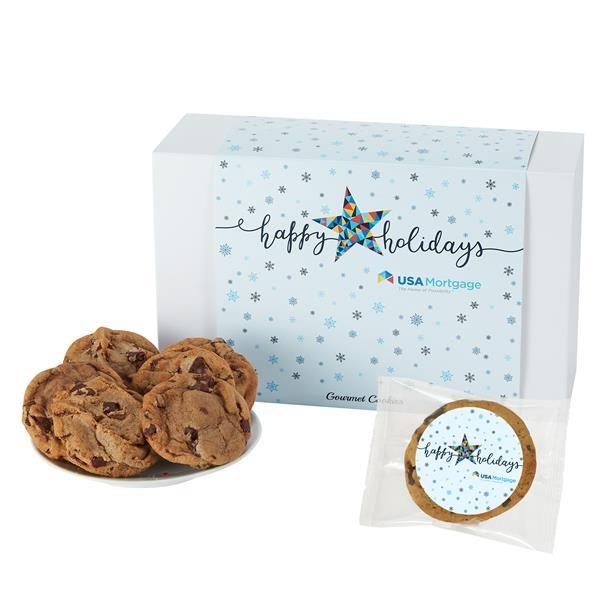 Medium Gift Box of 24 Chocolate Chip Cookies