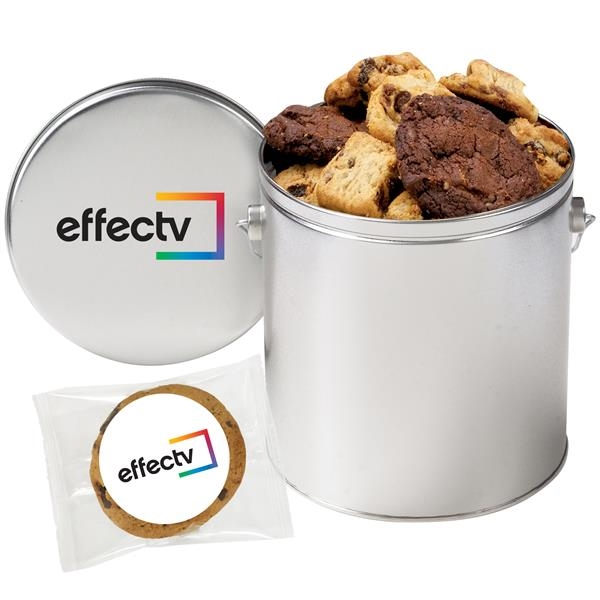 1 Gallon Gourmet Cookie Tin