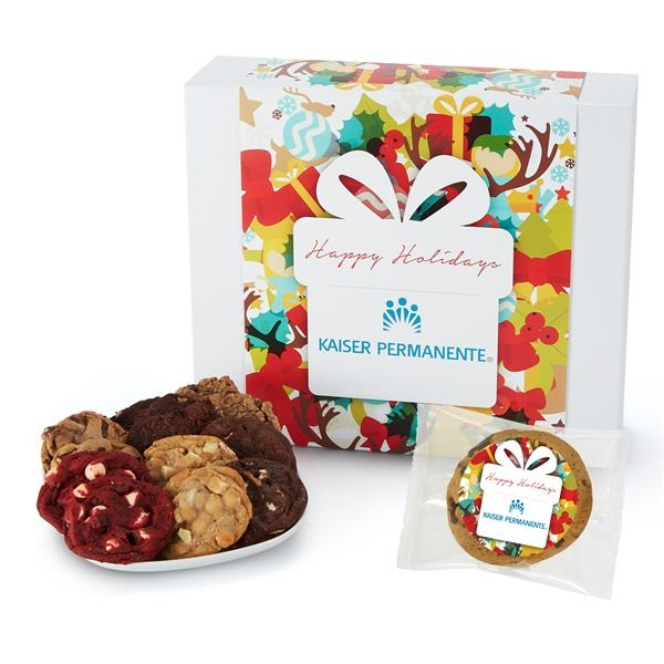 Large Gift Box of 36 Assorted Cookies