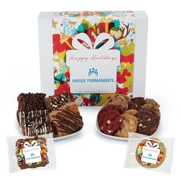 Large Gift Box of 30 Assorted Cookies & Brownies
