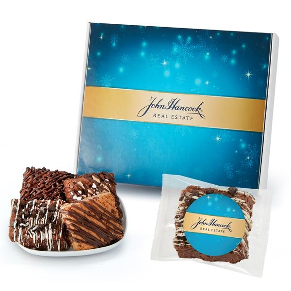 Large Mailer Box of 18 Assorted Brownies