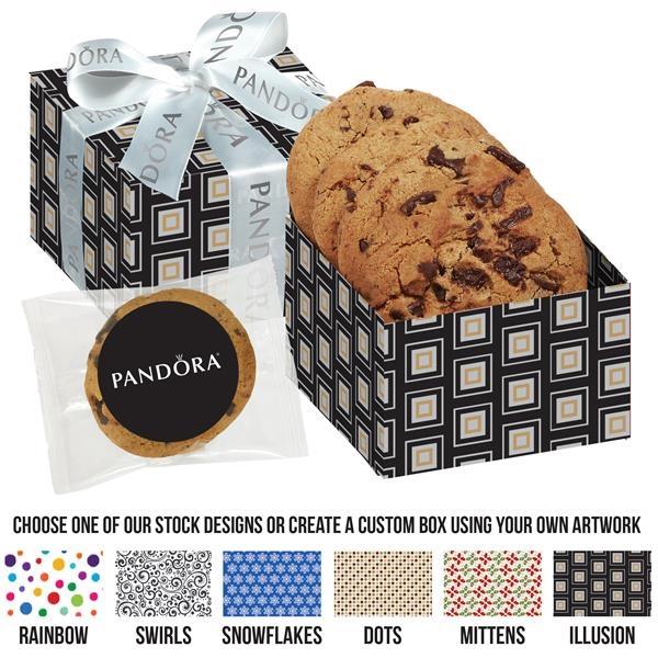 Gourmet Cookie Box (3 Chocolate Chunk Cookies)