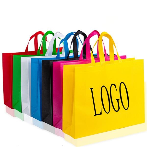 Custom Promotional Nonwoven Grocery Tote
