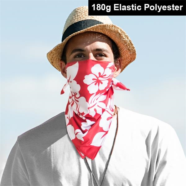 Full Color Stretch Bandana - Scarf Face Mask