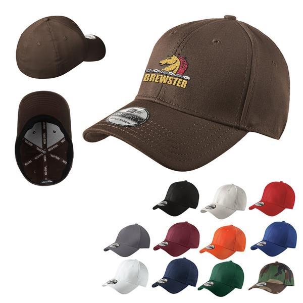 New Era Structured Stretch Cotton Cap