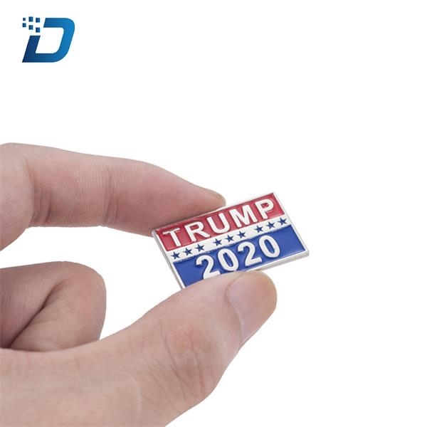 Trump 2020 Political Pin-back Button