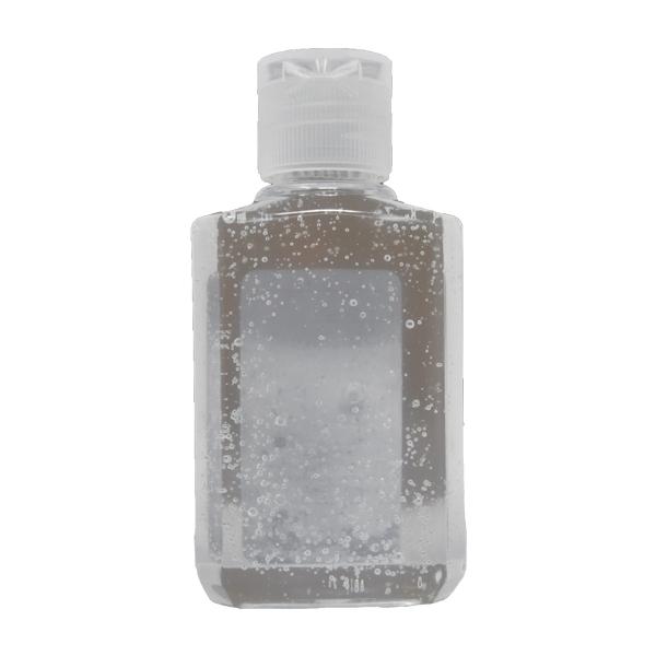 Hand Sanitizer, 61% Gel, 2 oz Bottle wit