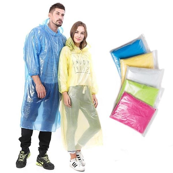 Adult Disposable Raincoat