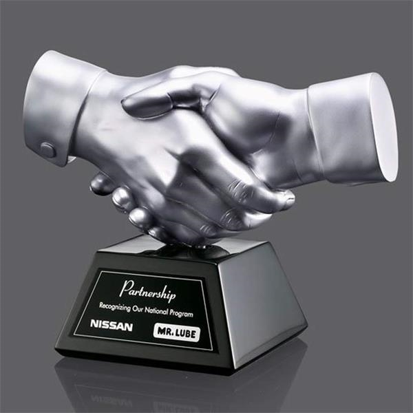 Shaking Hands Award - Silver