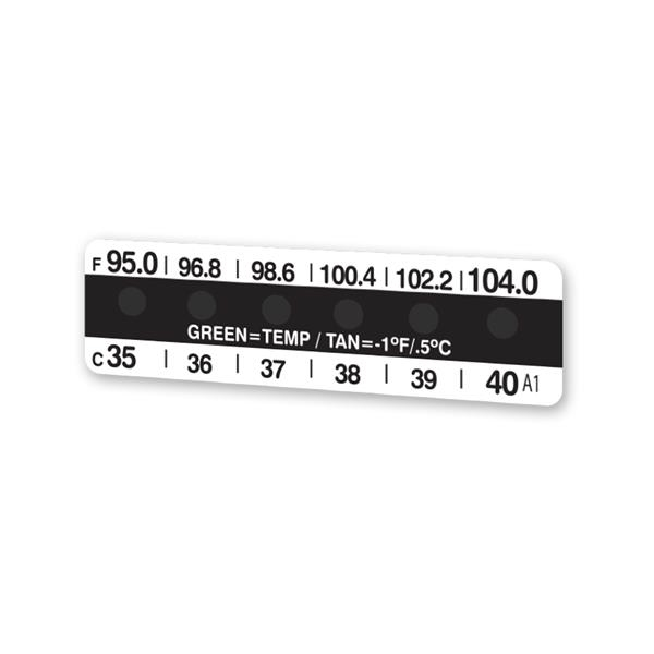 Single Use Forehead Thermometer - Single use forehead thermometer that takes temperature in Fahrenheit and Celsius.