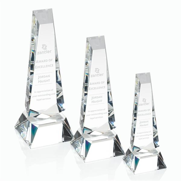 Rustern Obelisk Award - Clear