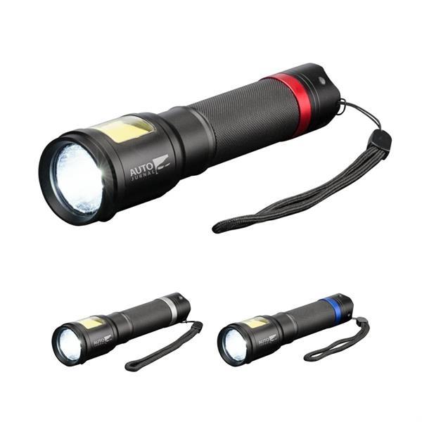 Wesson COB Metal Flashlight