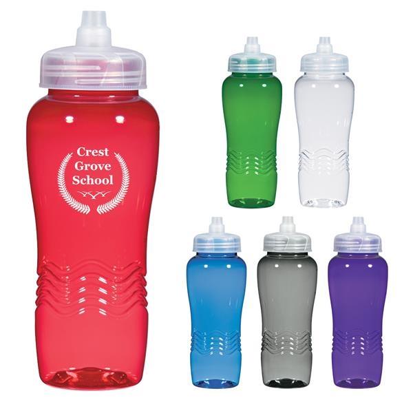 26 oz. Wave Bottle with Sure Flow Lid
