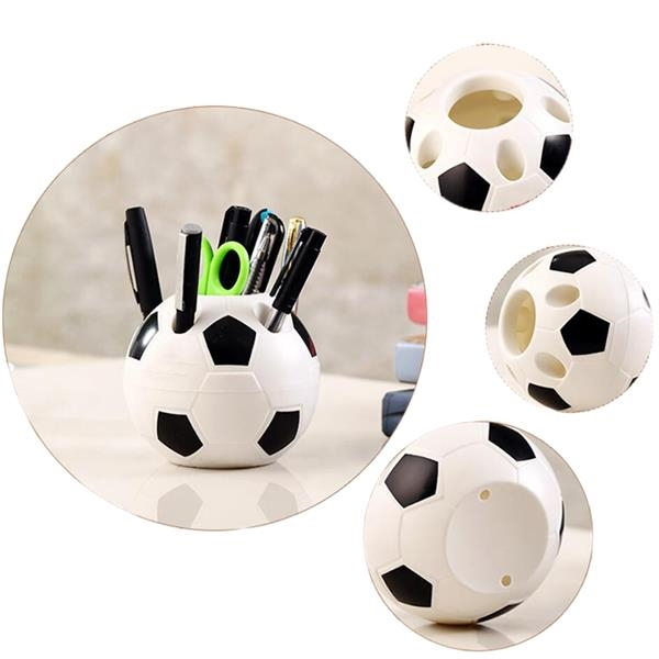 Football Shaped Pen Cup