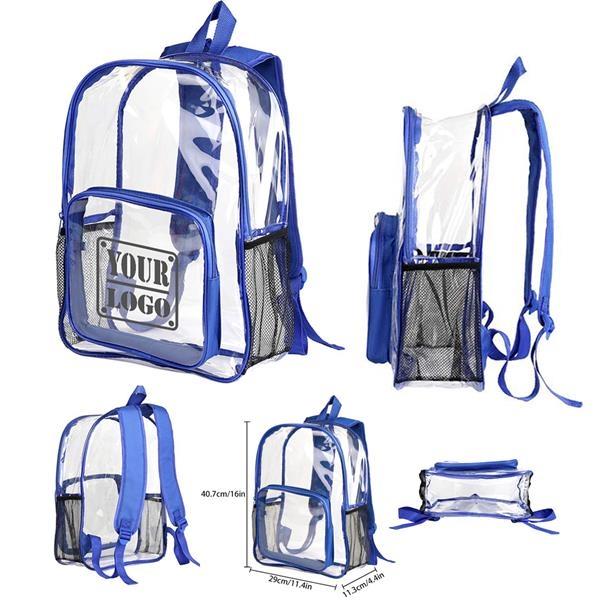 Multi-pockets PVC Backpack