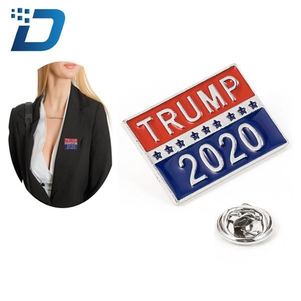 President 2020 Donald Trump Brooch Pin