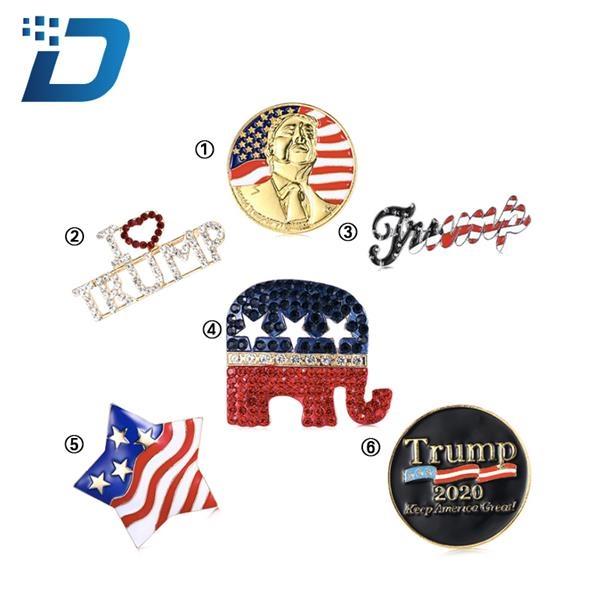 President 2020 Badges