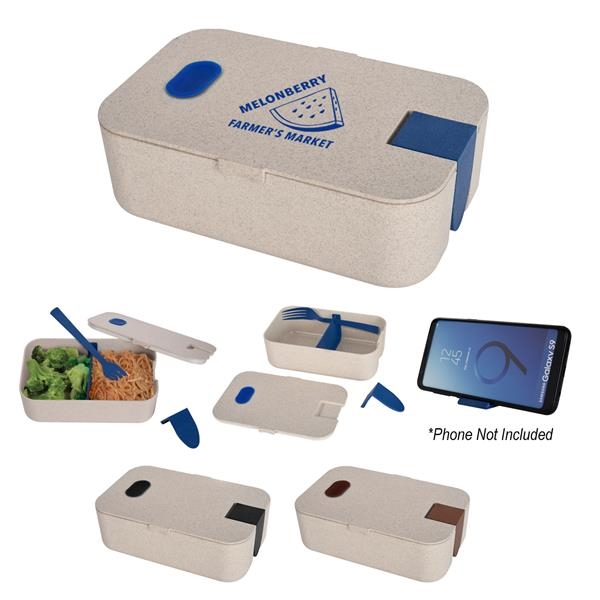 Lunch Set With Phone Holder
