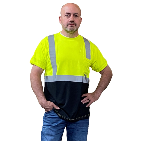 Occunomix® High Visibility Classic Black Bottom T