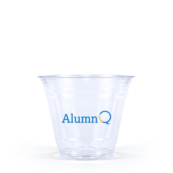 9 oz. Soft-Sided Clear PET Plastic Disposable Cup