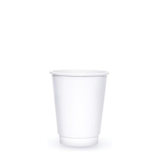 BLANK 8 oz. Double Wall Insulated Paper Hot Cup