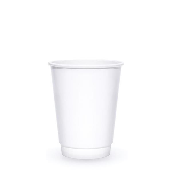 BLANK 12 oz. Double Wall Insulated Paper Hot Cup